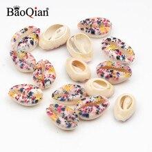 Crafts Seashells Conch Beach-Decor Natural Embellishment Rainbow 10pcs for DIY 10-20mm