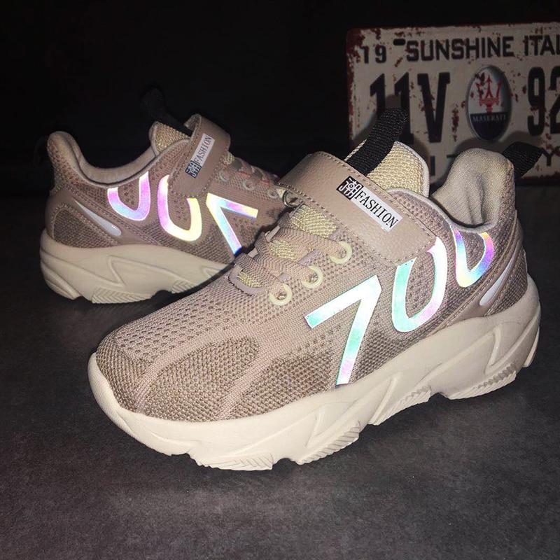 ULKNN Boy's New Fall Fly Woven Children's 6 7 8 Kids Sports Shoes Boy Running Shoes 9 Big Virgin 10-year-old Wild 13 Sneakers
