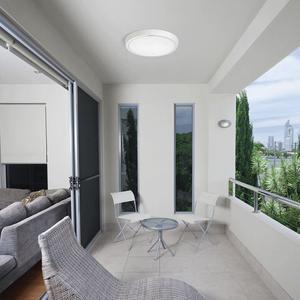 Image 5 - OPPLE IP44 su geçirmez lamba LED tavan ışık mutfak banyo balkon koridor PC akrilik tavan ışıkları 6W 12W yuvarlak armatür