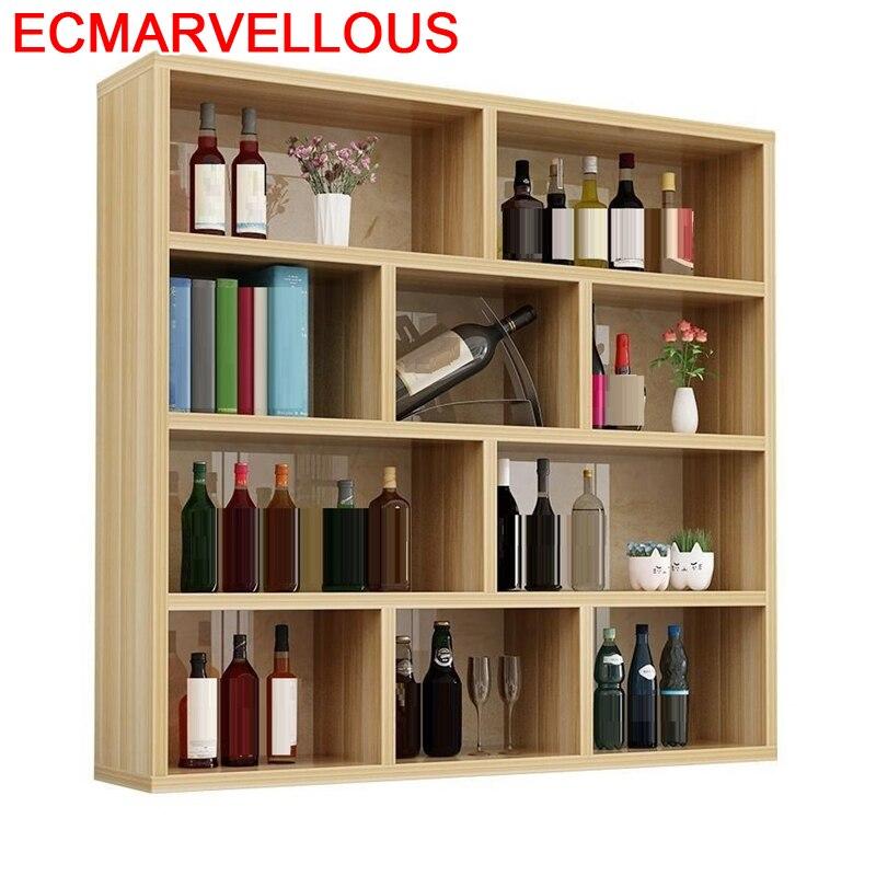 Room Table Cristaleira Adega Vinho Rack Kitchen Cocina Kast Mobilya Desk Shelf Mueble Bar Commercial Furniture Wine Cabinet