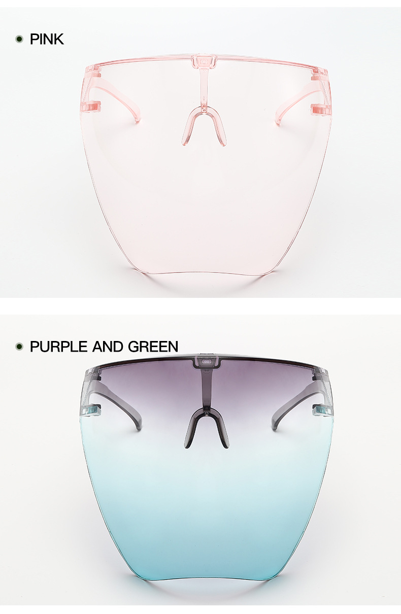 Safety Blocc Glasses Anti-Spray Mask Protective Goggle Glass Sunglasses CLOVER JEWELLERY