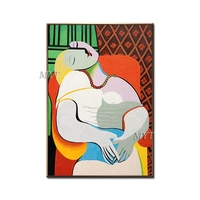 New Abstract Figure Art Handmade Picasso Paintings Reproduction Modern Oil Painting Canvas Wall Art Home Decor Wall Pictures Art