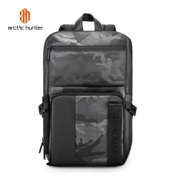 ARCTIC HUNTER Men Backpack Sport Outdoor Bags Business Travel Laptop Bag Waterproof Anti-thief Camouflage Mochila Male Schoolbag moyyi men travel backpack large capacity teenager male mochila anti thief bag 14 15 6 17 3 laptop backpack waterproof bags