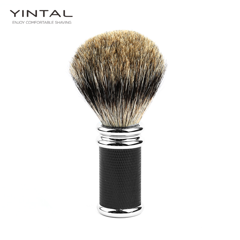 Badger Hair Zinc Alloy Shaving Brush Men Shaving Brush Shaving Accessories