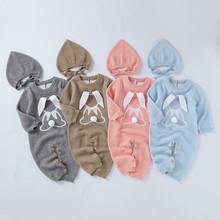 ARLONEET ubrania dla niemowląt chłopcy dziewczęta gruby płaszcz zimowy kapelusz kreskówka ciepłe dzianiny romper kombinezon odzież wierzchnia bawełna dziecko płaszcz odzież wierzchnia tanie tanio Unisex Moda W wieku 0-6m 7-12m 13-24m 25-36m 3-6y 7-12y 12 + y O-neck COTTON Akrylowe REGULAR Pasuje prawda na wymiar weź swój normalny rozmiar