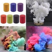 1 шт. красочные таблетки дыма сгорания смога торт эффект дымовой бомбы таблетки портативный реквизит для фотосессии Хэллоуин