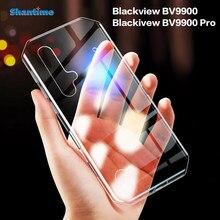 Para blackview bv9900 caso ultra fino claro tpu macio caso capa para blackview bv9900 pro blackview bv9900e couqe funda