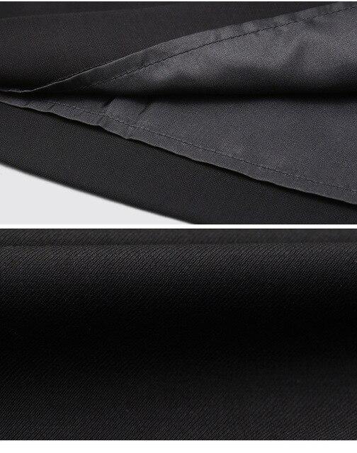 Элегантная женская юбка-карандаш с высокой талией 6