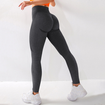 RUUHEE Seamless Legging Yoga Pants Sports Clothing Solid High Waist Full Length Workout Leggings for Fittness Yoga Leggings 9
