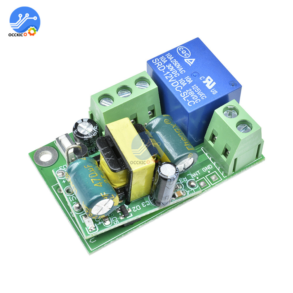 220V Wifi Switch Relay Module Jog Inching Wireless Remote Switch Control for Smart Home Automation Garage Door System