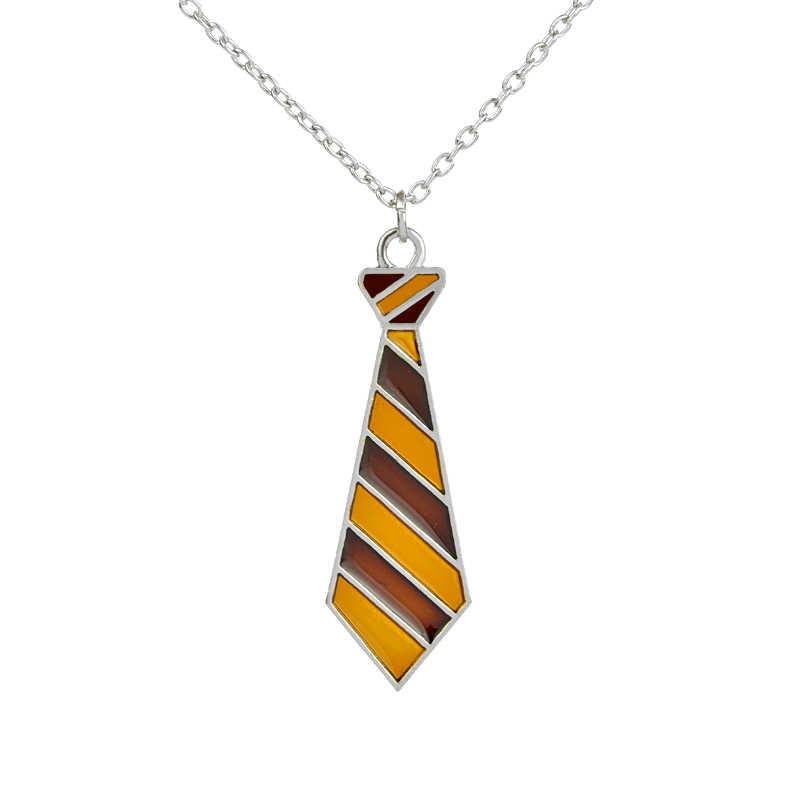 الفضة اللون سحر بوتر التعادل قلادة للرجال والنساء مجوهرات الأزياء الساخن