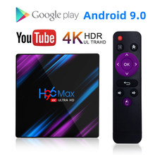 H96 MAX RK3318 inteligentny telewizor z androidem Box 16GB 32GB 64GB odtwarzacz multimedialny 4K Wifi Netflix zestaw top odtwarzacz multimedialny BOX Youtube z systemem Android pole 9.0(China)