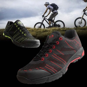Tiebao Leisure Cycling Shoes Non-slip Mountain Bike Shoes MTB Breathable Athletic Bicycle Shoes Outdoor Sport Cycling Sneakers(China)