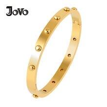 Минималистичные браслеты jovo love из нержавеющей стали оптовая