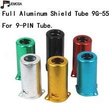 10PCS Full Aluminum Tube Socket Shielding Cover For 5687 6N1 5755 12AX7 12AT7 12AU7 9 Pin Electronic Tube Shield Free Shipping