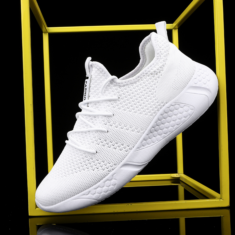 Damyuan 2020 New Summer Fashion Men Shoes Sneakers Running Shoes Sports Big Size 46 Breathable Lace-up Women Shoes