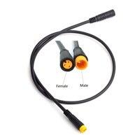 JULET impermeabile 3pin maschio a femmina cavo di prolunga sensore per luce motore Ebrake acceleratore Display cavo di conversione Ebike
