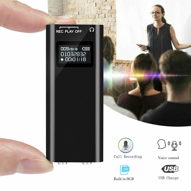 8GB Recording Sound Audio Activated Device for University Office 1