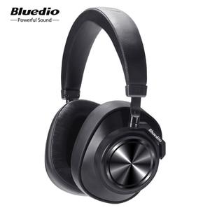 Image 1 - Bluedio T7 ANC 블루투스 헤드폰 이어폰 무선 헤드셋 57mm 드라이브 HIFI 블루투스 이어폰 (마이크 포함)