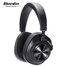 Bluedio – écouteurs sans fil Bluetooth T7 ANC, casque d'écoute HIFI avec microphone, pour téléphone, musique, sport, 57mm