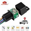 Реле GPS MV730 для автомобилей, GPS-трекер в реальном времени для отключения топлива, локатор ACC, вибросигнал, превышенная скорость, уведомление 720...