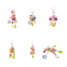 Rattle-Toy Stroller Plush Hand-Bell Hanging Mobile-Bed Rotating-Wind-Chime Gift Appease