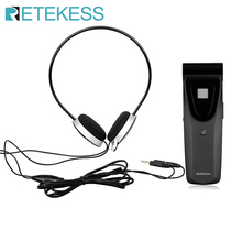 Retekess T121 16 Channels Noise free Infrared Receiver Unit for Digital Infrared Wireless Emission Conference System F9409