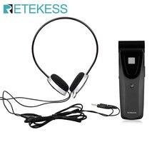 Retekess T121 16 Kanäle Noise freies Infrarot Empfänger Einheit für Digitale Infrarot Drahtlose Emission Konferenz System F9409