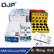 O Rings Rubber/Silicone Ring Seal VMQ NBR FKM Sealing O-rings Nitrile Washer Rubber oring set Assortment Kit Set Box Ring 200pcs set 15 sizes rubber grommet o ring washer sealing assortment for hydraulic machinery with box