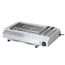 BS-65A Electric BBQ Grill Commercial Electric Outdoor Household Small Portable Grill 3000W Stainless Steel Grill 220v commercial stainless steel all flat grill griddle bbq plate electric contact grillplate