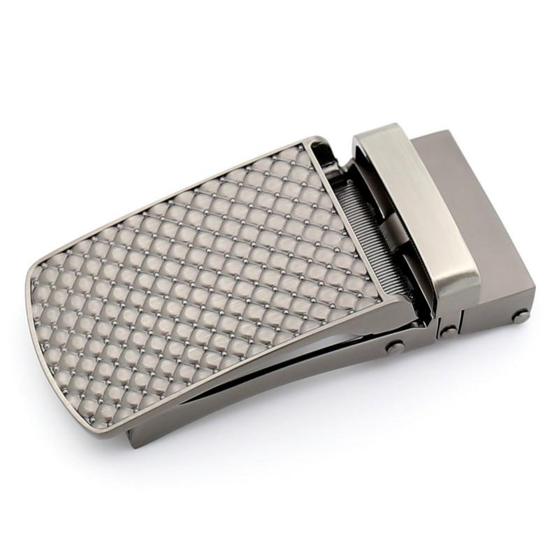 Men's Business Alloy Automatic Buckle Unique Men Plaque Belt Buckles For 3.5cm Ratchet Men Apparel Accessories Belt LY155-2219
