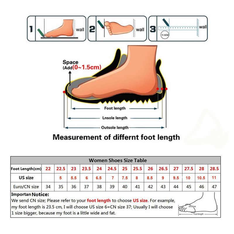 PINSEN kadın Sneakers yürüyüş ayakkabıları yüksek kaliteli deri süet açık rahat ayakkabılar kadın kaymaz bayan ayakkabıları Tenis Feminino