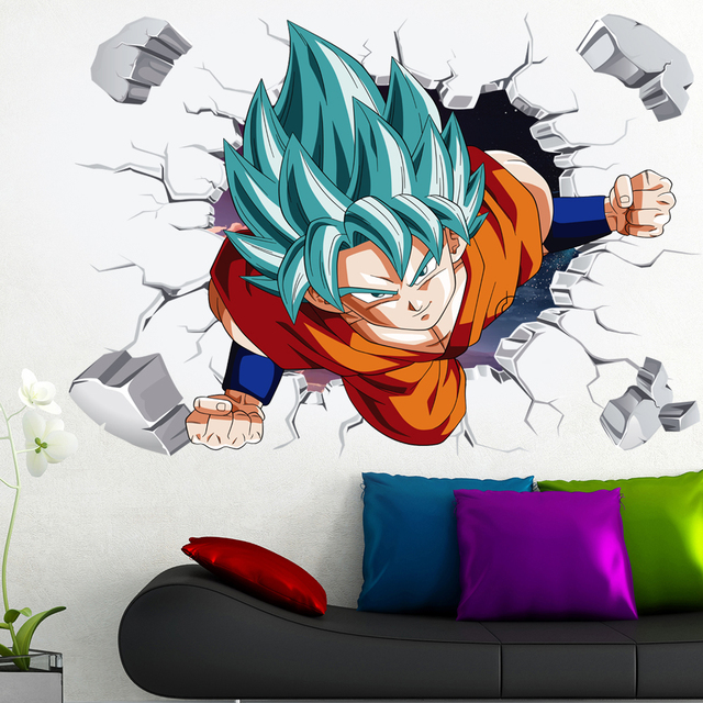 3D Broken Hole Goku 2