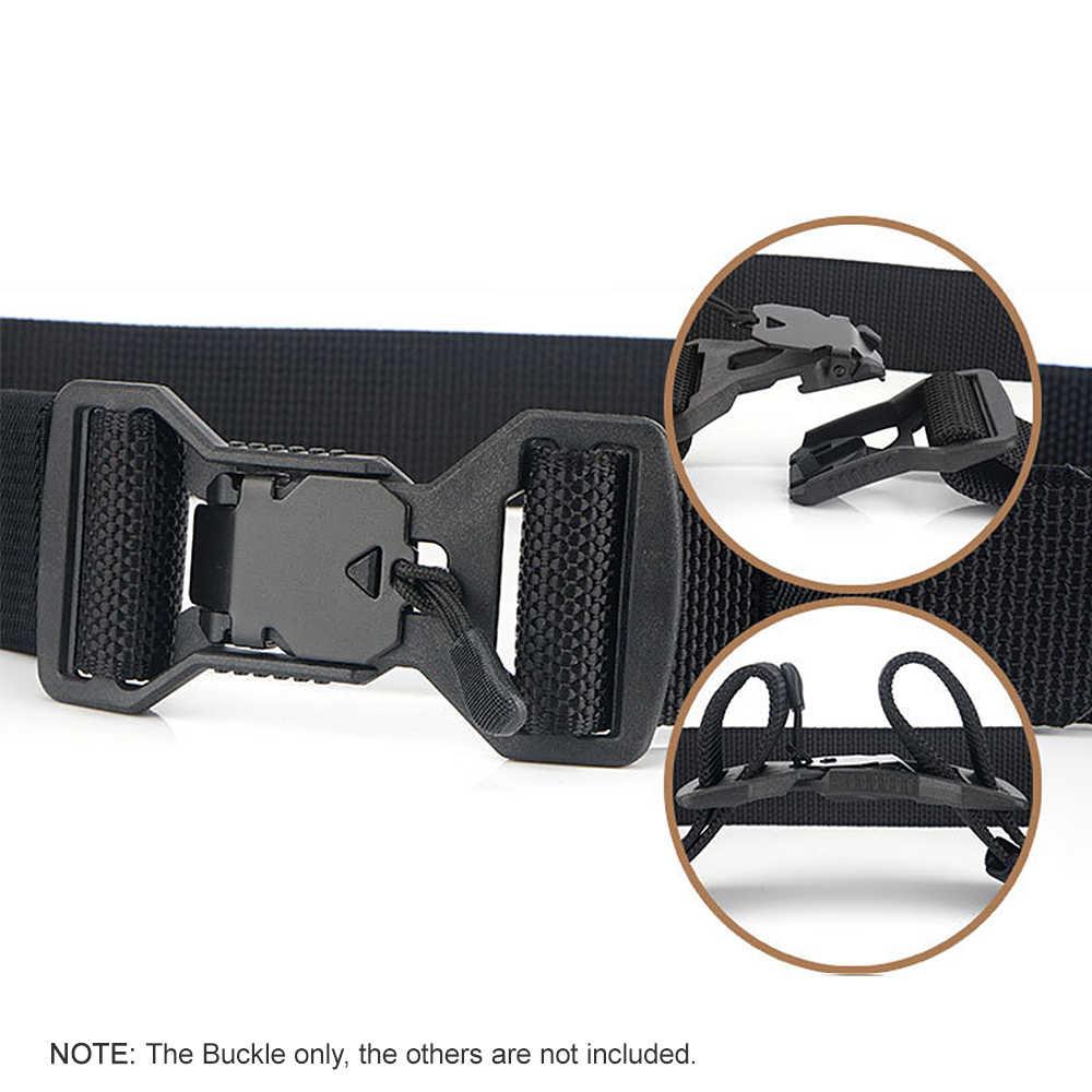 العالمي المغناطيسي مشبك التكتيكية حزام الإصدار الجانب مشبك قابل للتعديل DIY حزام مشبك أداة خارجية التخييم المعدات