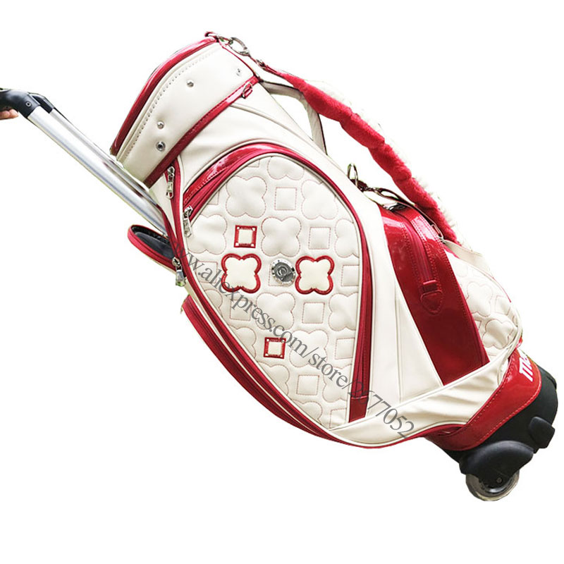 New Golf Bag PU Maruman Majesty Golf Clubs Bag In Choice 9.inch Golf Standard Bag Standard Ball Package Cooyute Free Shipping