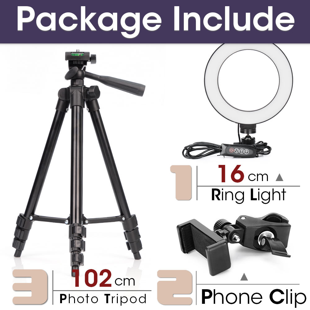 16cm and 102cmTripod