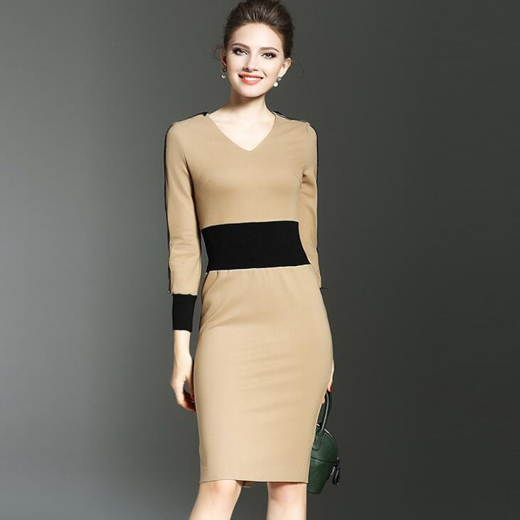 Fashion Elegant Women Dress Suit OL Work Office Lady Formal Business Wear Bodycon Slim Vintage Cape Coat Two Piece Set Outfit