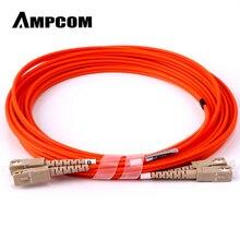 AMPCOM SC в SC волоконный патч-кабель многомодовый дуплексный-50/125um OM2-SC/UPC в SC/UPC