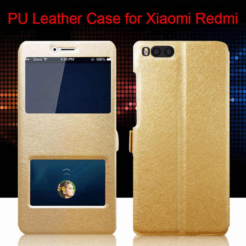 Silk PU Anti Knock Leather Case for Xiaomi Redmi Note 7 6 5 Pro 5A Prime 5 4X 4 3 2 Flip Cover Case for Redmi 5 Plus 6A 4A 3S