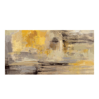 150x300cm Abstract Yellow Oil Painting on Canvas Posters and Prints Modern Cuadros Wall Art Picture Bedroom Kids Room Decor