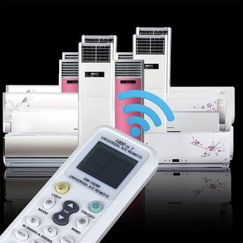 Universal Wireless Remote Controller For Air Conditioner HW-1028E Universal A/C Airconditioner LCD Remote Control LCD A/C 433 HZ image