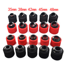 32mm 35mm 38mm 42mm 45mm 48mm Bend Elbow Neck Foam Air Filter Sponge Cleaner Moped Scooter Dirt Pit Bike Motorcycle RED Kayo BSE