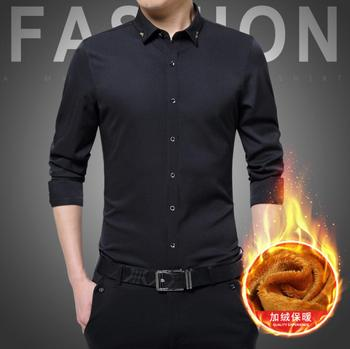 Hot 2019 Autumn Cotton Dress Shirts em8  Mens Casual Shirt,Casual Men Shirts A9A22-1-16