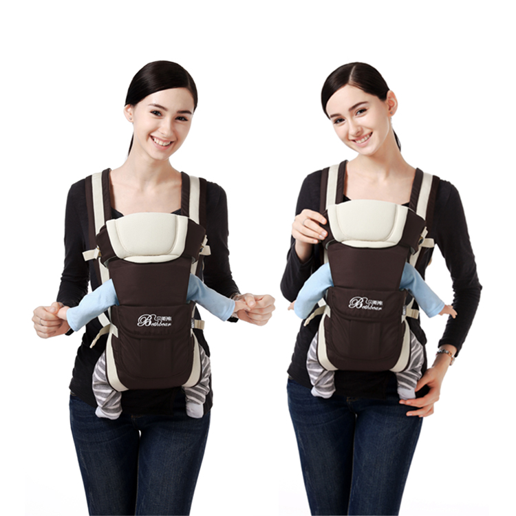 4 в 1, слинг-рюкзак для переноски детей 0-24 м