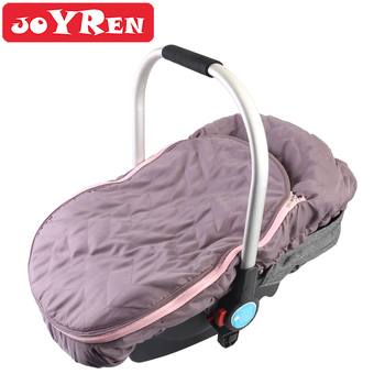 Infant Car Seat Canopy Zipper Opening Baby Car Seat Cover to Keeps Your Baby Toasty Warm in Cold Winter Weather Shield