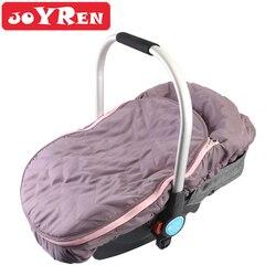 Infantil assento de carro dossel zíper abertura do assento de carro do bebê capa para mantém o seu bebê quente quente no inverno frio tempo escudo