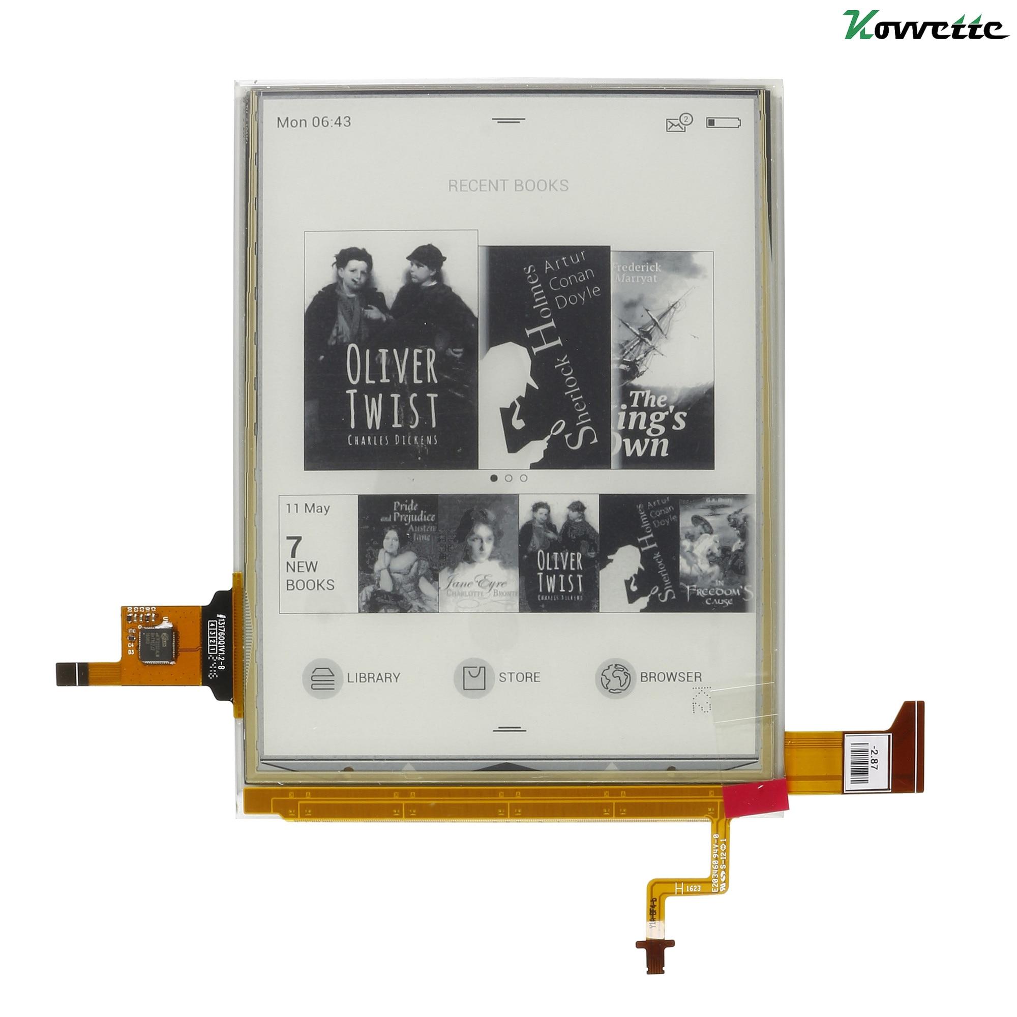 6 Cal Panel z ekranem dotykowym i podświetleniem ED060XH7 E ekran z tuszem do ekranu ONYX BOOX Vasco da Gama