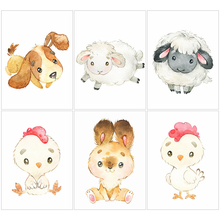 HUACAN-Cuadro de perro hecho de diamantes de oveja 5d, bordado de Arte de dibujos animados, decoración de pared de salón, regalo hecho a mano