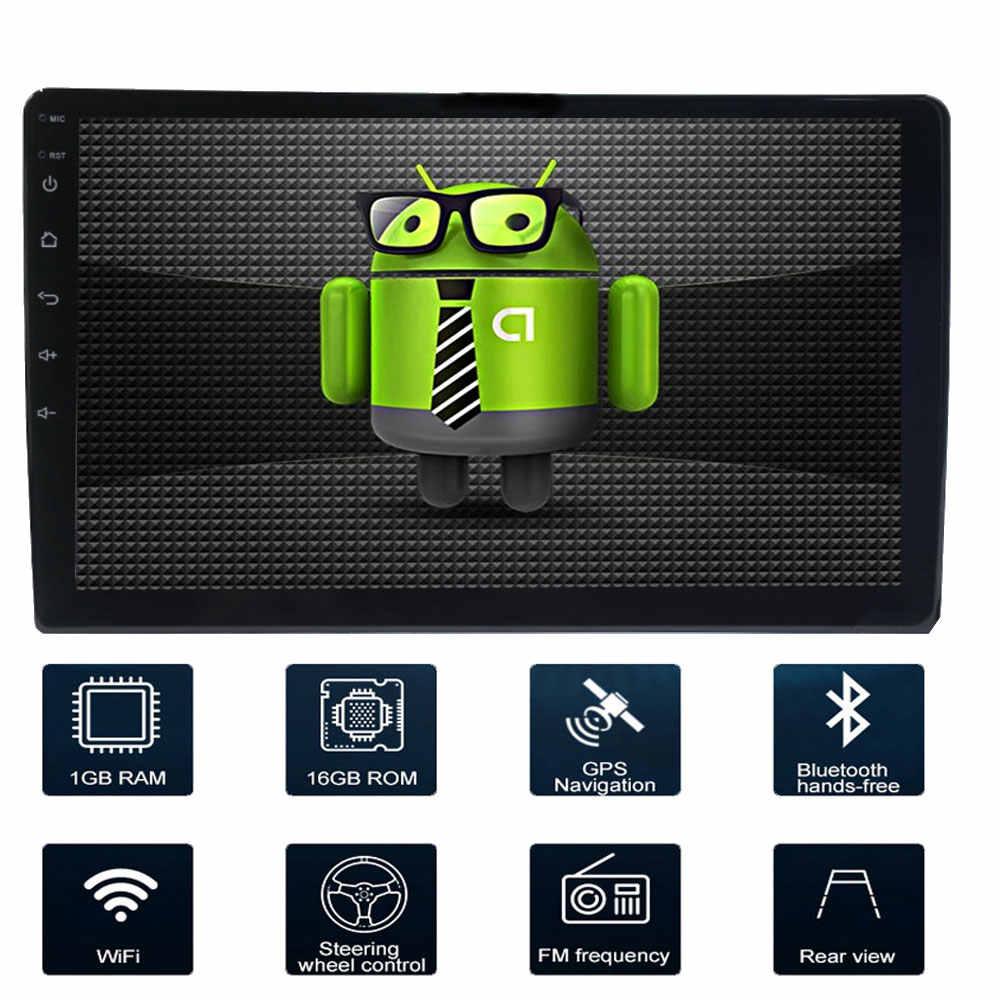 Araba navigasyon 9 inç Android 8.1 dört çekirdekli destek ayna bağlantı DAB 2DIN araba radyo multimedya video oynatıcı Lifan 620/Solano