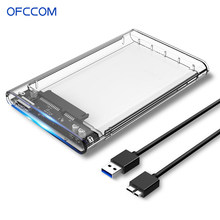 Ofccom 2.5 Inch Hdd Behuizing Sata 3.0 Usb 3.0 5 Gbps 6Tb Ondersteuning Uasp Hd Externe Type C 3.1 Ssd Harde Schijf Case